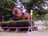 Emma and Frank eventing