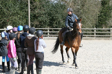 Horse riding in Kent