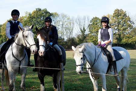Riding for school groups